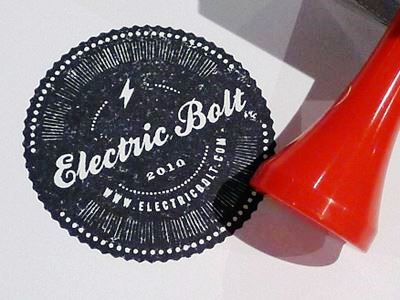 24 Contoh Desain Stempel Cantik - Stempel-Cantik-Desain-Oleh-Electric-Bolt