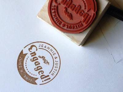 24 Contoh Desain Stempel Cantik - Stempel-Cantik-Desain-Oleh-Engagement-Stamp