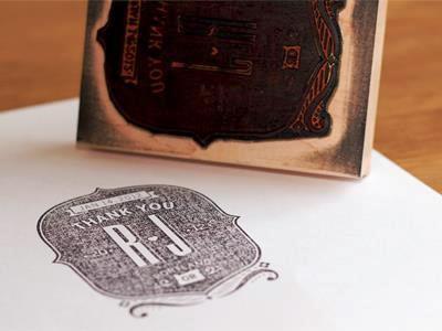 24 Contoh Desain Stempel Cantik - Stempel-Cantik-Desain-Oleh-Thank-You-Stamp