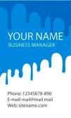 Template Kartu Nama Vector Gratis Download