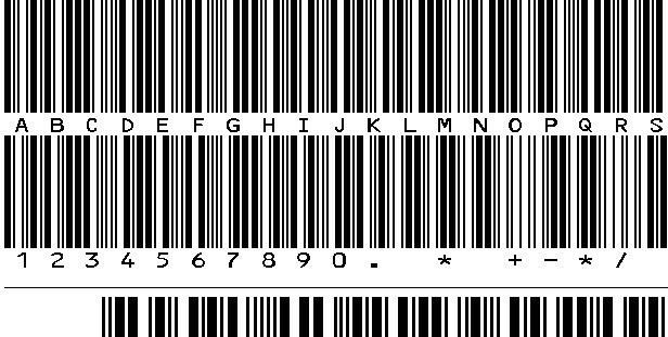 Summary -> Free Mediumsize Code 39 Font Discontinued Idautomation