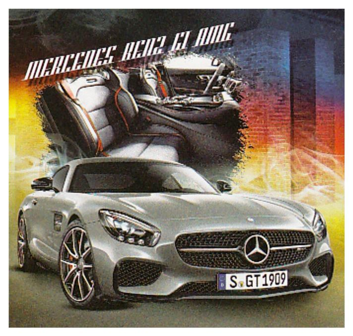Mercedes benz gt amg 2016 calendar for Mercedes benz calendar