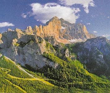 Mt. Civetta, The Dolomites, Italy