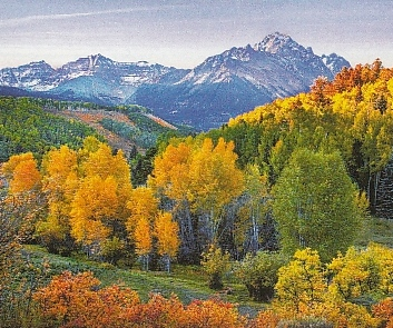 Sneffles Range, Colorado, USA