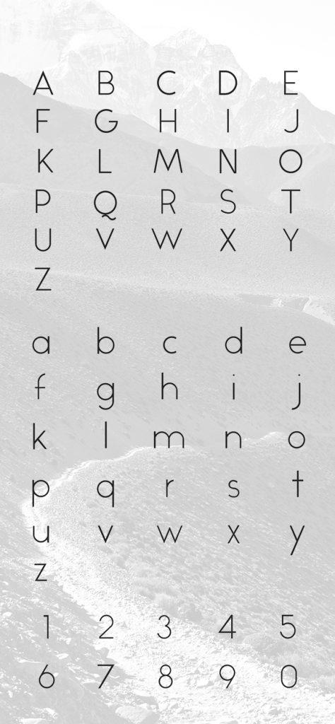11 Font Modern Free Download
