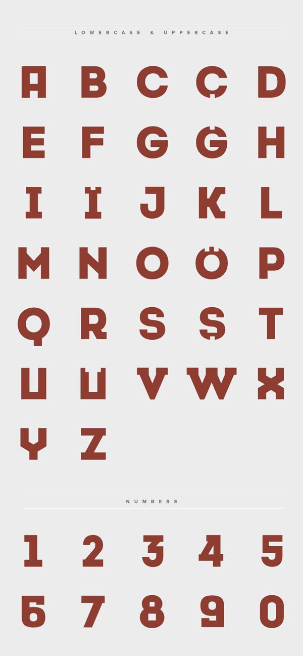 Font Modern Free Download
