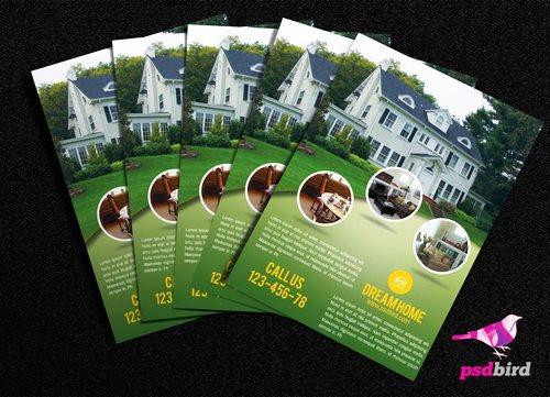 Cara Membuat Desain Brosur yang Menarik - Brosur Real Estate