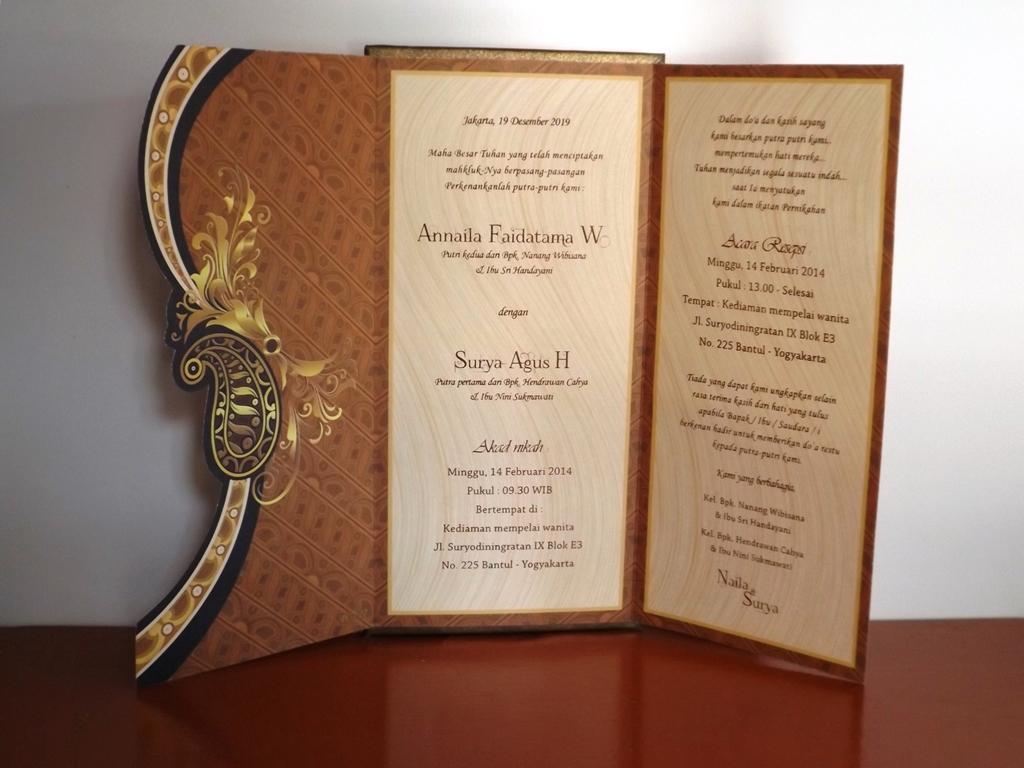 Bisnis Percetakan Desain Undangan Cetak Blanko Katalog Pernikahan