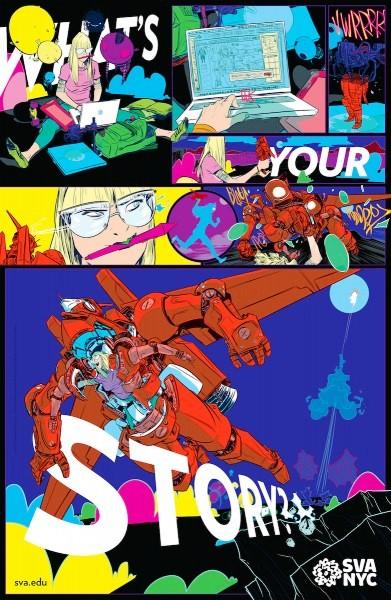 Mencetak Desain Poster yang Berkualitas - contoh desain poster yang bagus 25