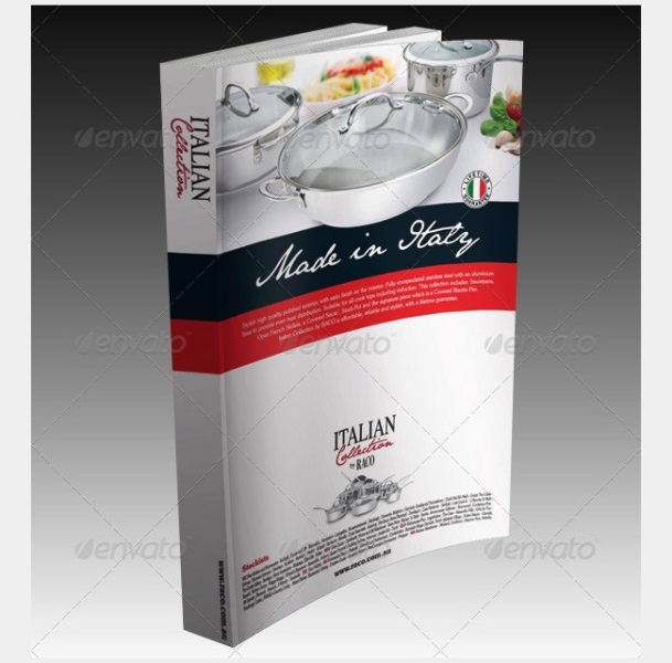 Contoh Dan Template Desain Kover Buku Download PSD 49