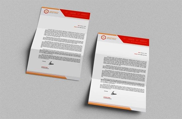 Desain Kop Surat Free Download Template PDF PSD Vector