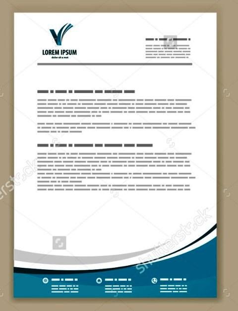 51 Contoh Desain Kop Surat Free Download Template