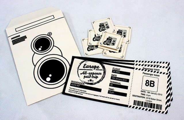 Contoh Desain Tiket 08