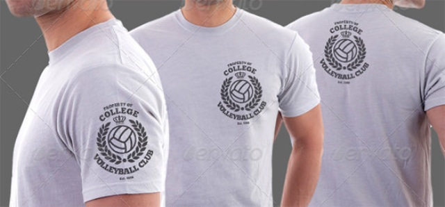 Desain kaos free download template t shirt mockup for How to copyright at shirt design