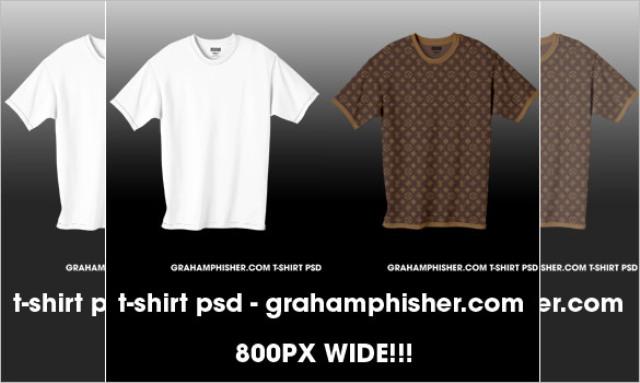 Desain kaos free download template t shirt mockup for T shirt printing photoshop