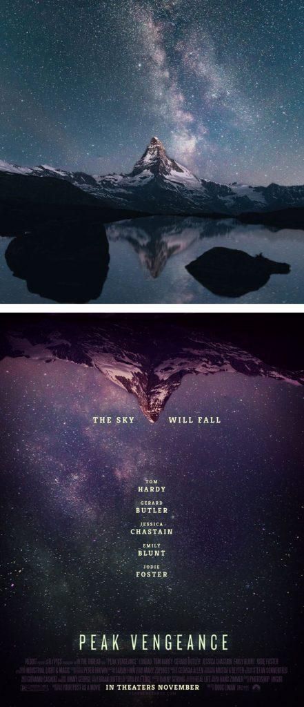 Desain Poster Film dari Foto Biasa 42
