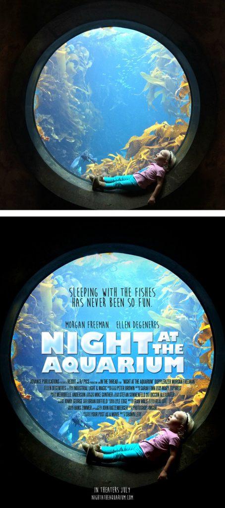 Desain Poster Film dari Foto Biasa 47