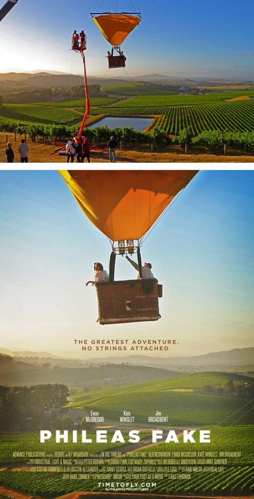 Desain Poster Film dari Foto Biasa 49