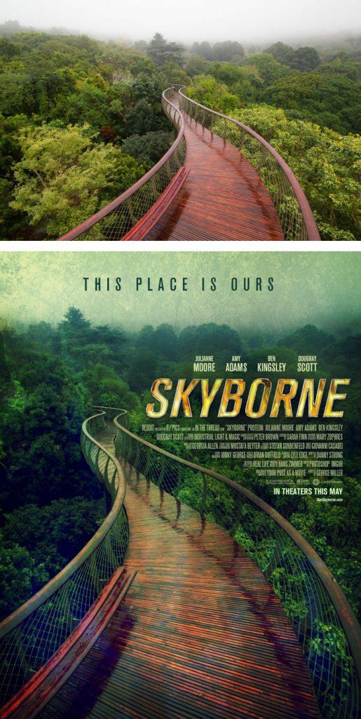 Desain Poster Film dari Foto Biasa 74