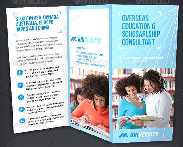 education brochure template