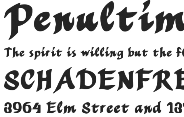 40 Paint Brush Fonts for Creating Artistic Typographies
