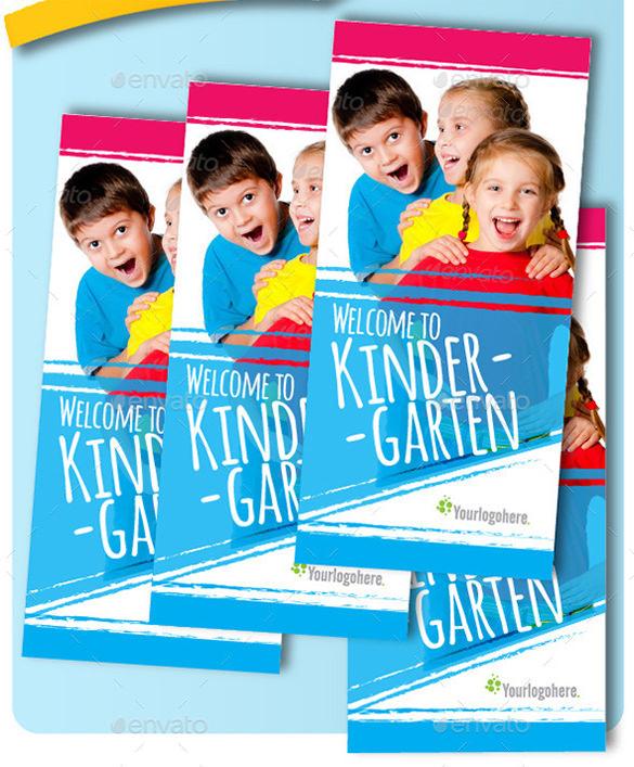 Tri Fold Kindergarten Brochure