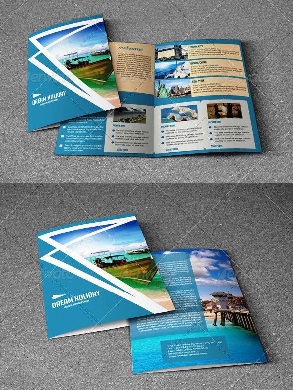 Brosur Tour dan Travel