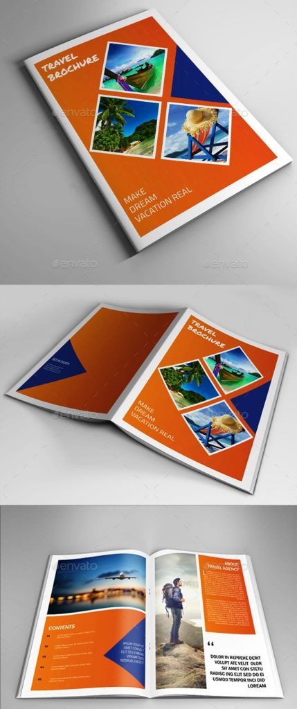Brosur tour dan travel ini: Travel Tour Brochure Catalog is for Travel