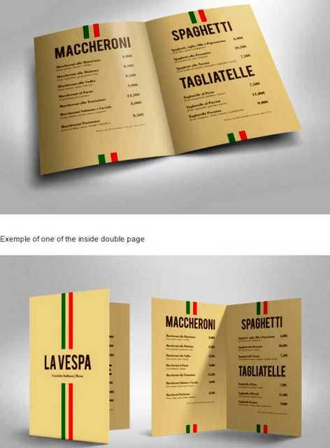 Desain Brosur Restoran Untuk Promosi Dan Marketing 30 Ideas