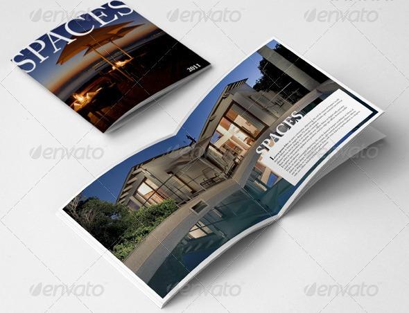 Desain Booklet Template Premium Download