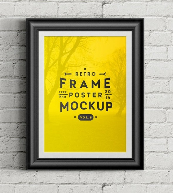 Template Poster Format Photoshop PSD