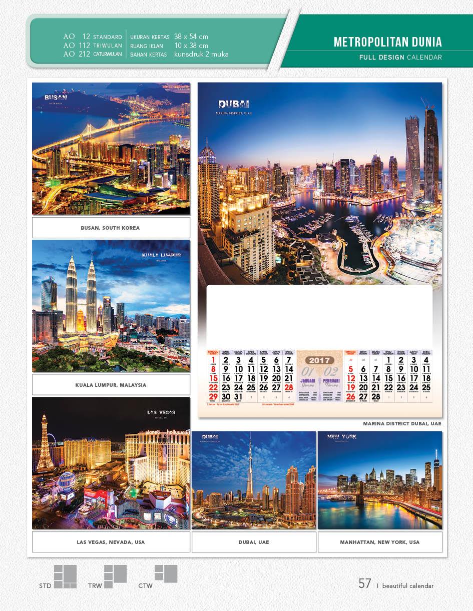 kalender-catur-wulan-4-bulanan-desain-full-metropolitan ...