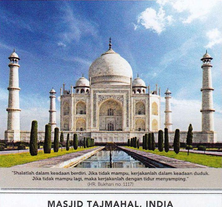Kalender Meja 2017 Islamic Masjid Dunia Blangko AO 928