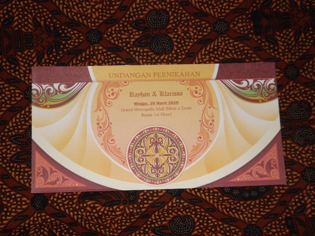 Jual Blanko dan Terima Cetak Undangan Pernikahan iCard