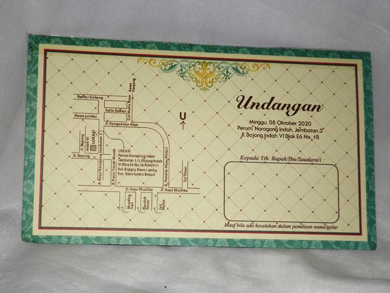 Undangan Pernikahan Nuvola Card