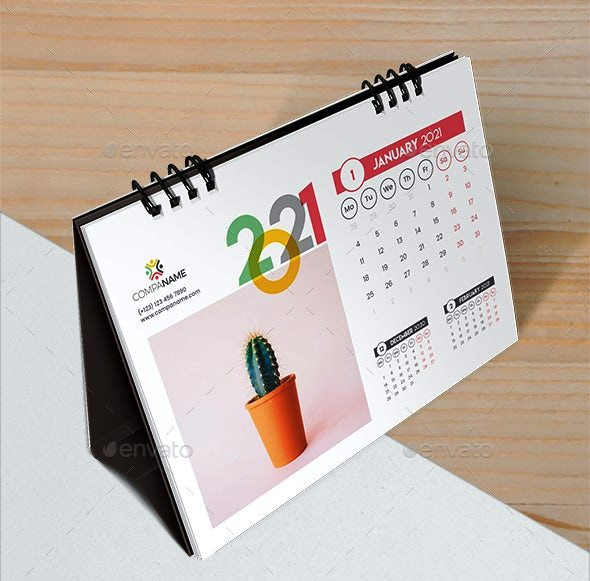 Kalender Meja 2021 - 22733324 - Ayuprint.co.idAyuprint.co.id