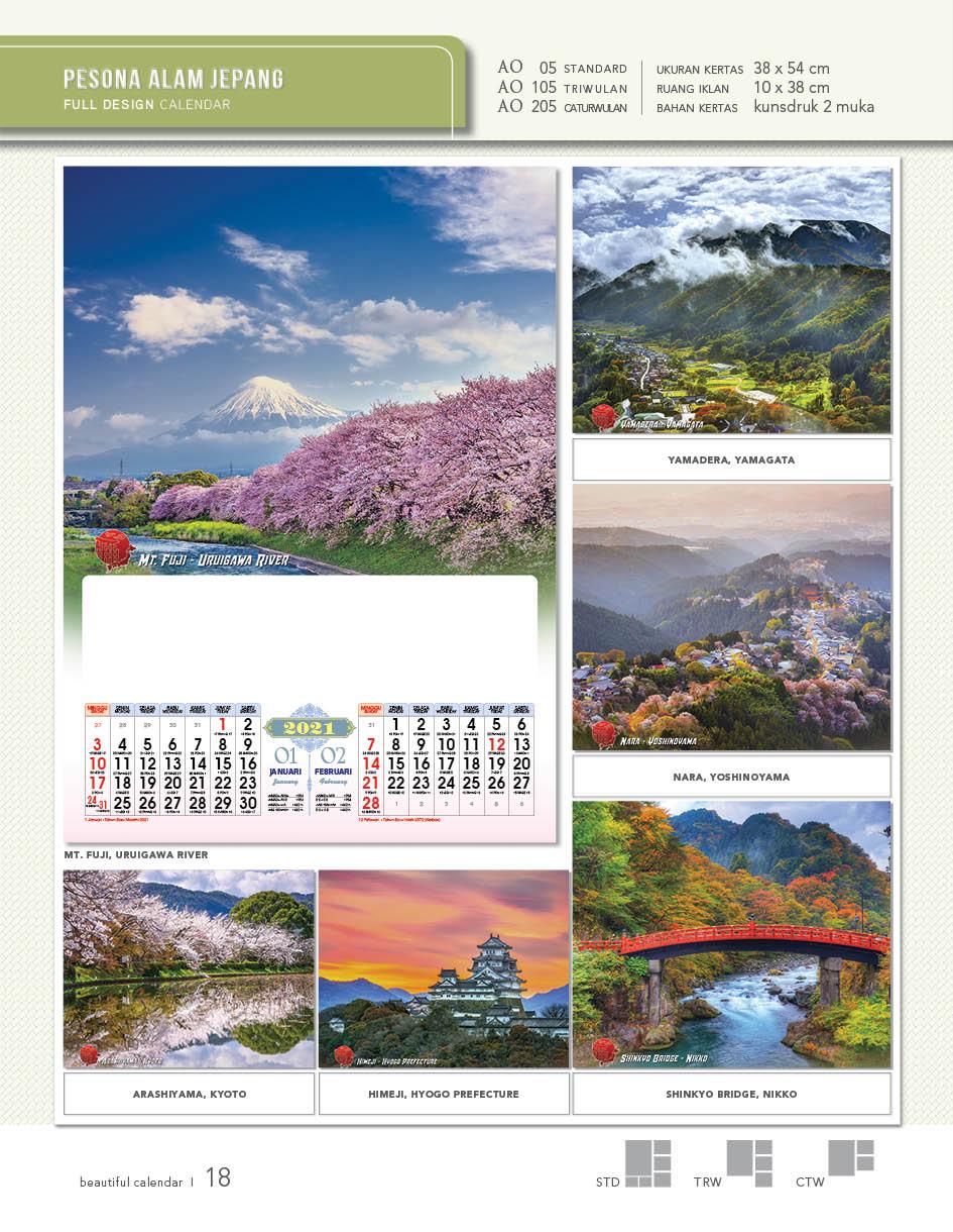 Pesona Alam Jepang (AO 05)