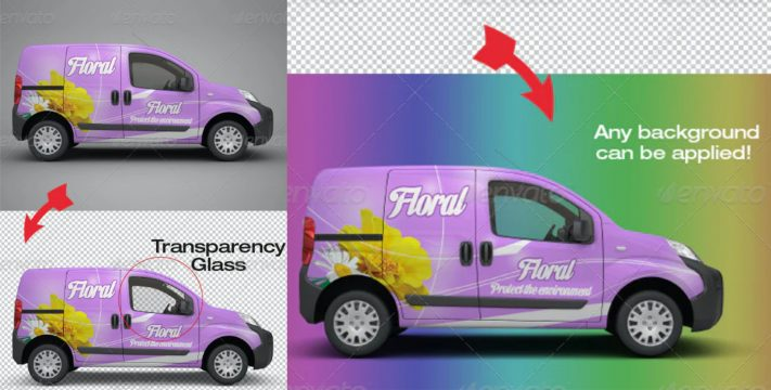 Graphics Printing for Automotive Car Wrapping Stickers and Decals