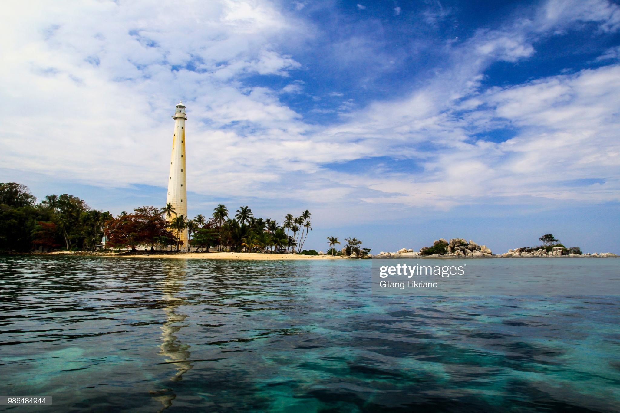 Mercusuar, Belitung, Indonesia