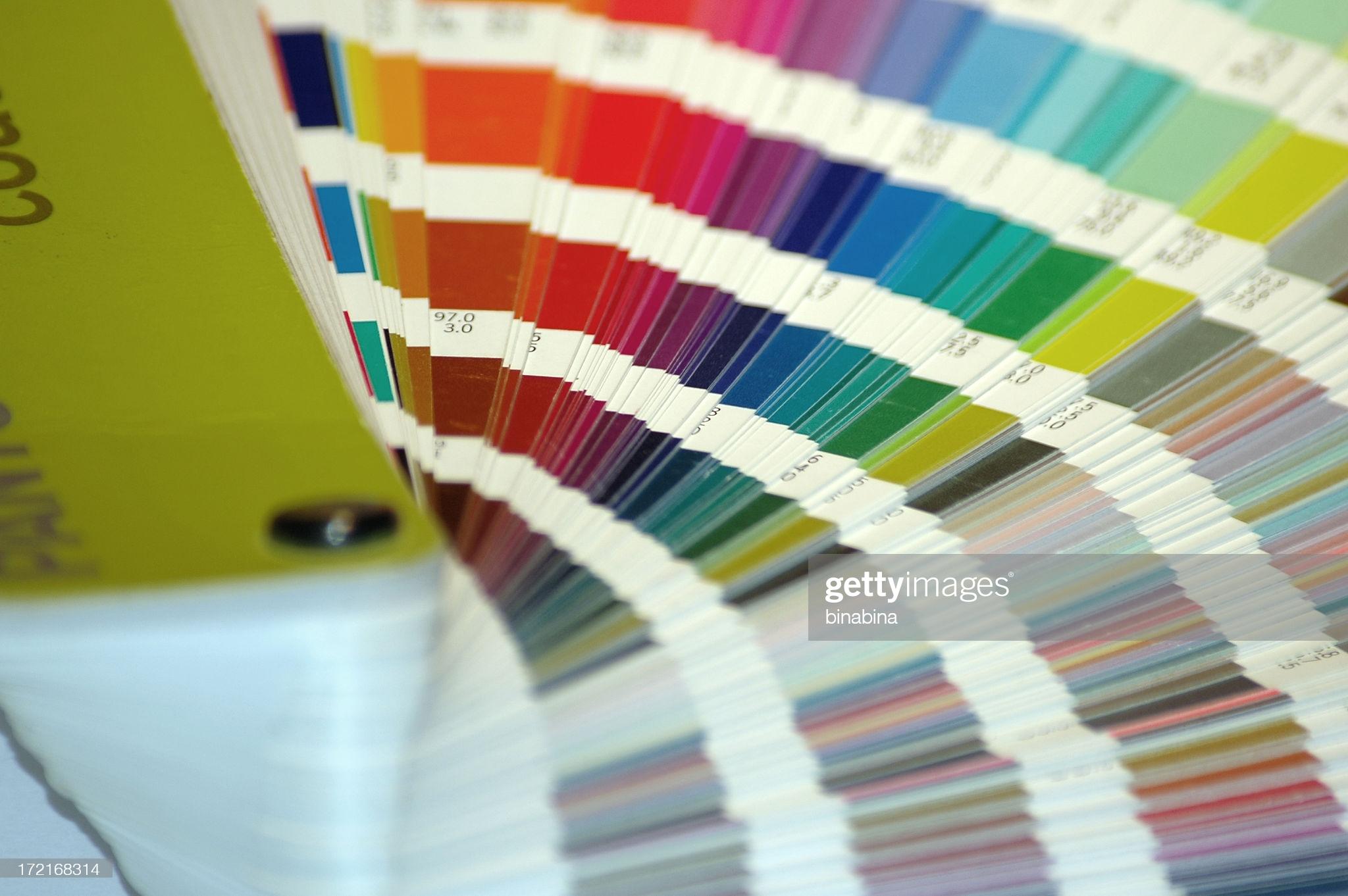 A set full of colors.